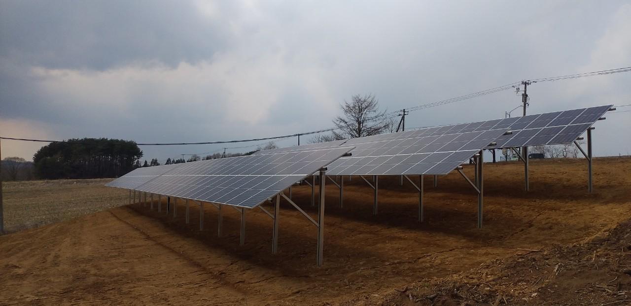 施工例『洋野町太陽光』の詳細を見る