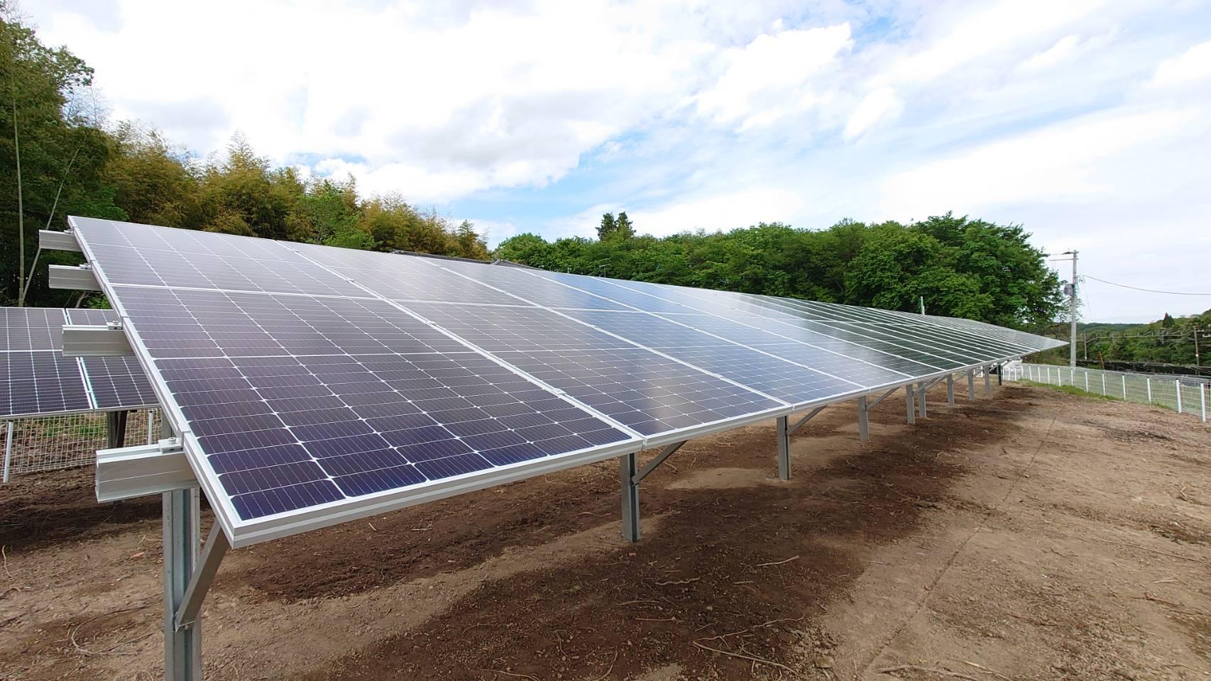 施工例『登米太陽光発電所』の詳細を見る